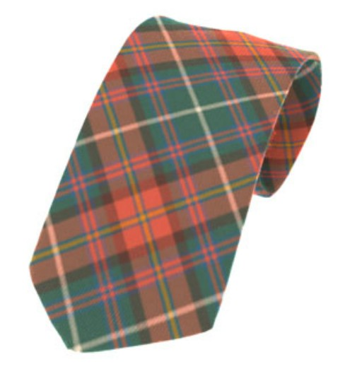 Meath County Plain Weave Pure New Wool Tie