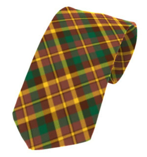 Monaghan County Plain Weave Pure New Wool Tie