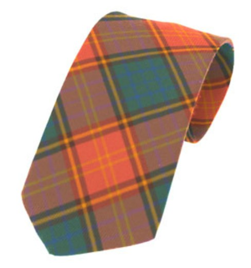 Roscommon County Plain Weave Pure New Wool Tie