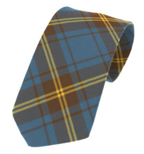 Sligo County Plain Weave Pure New Wool Tie
