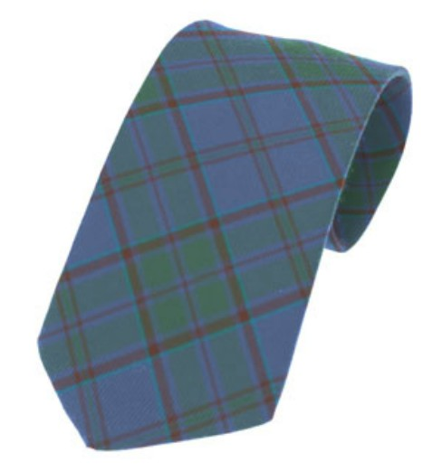 Wicklow County Plain Weave Pure New Wool Tie