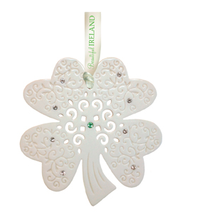 Shamrock Porcelain Decoration