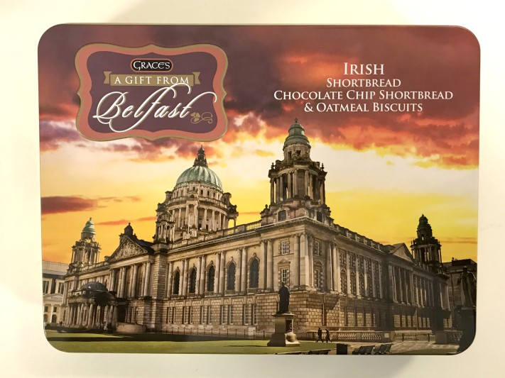 Grace's Gift From Belfast Souvenir Tin - Biscuits/Shortbread