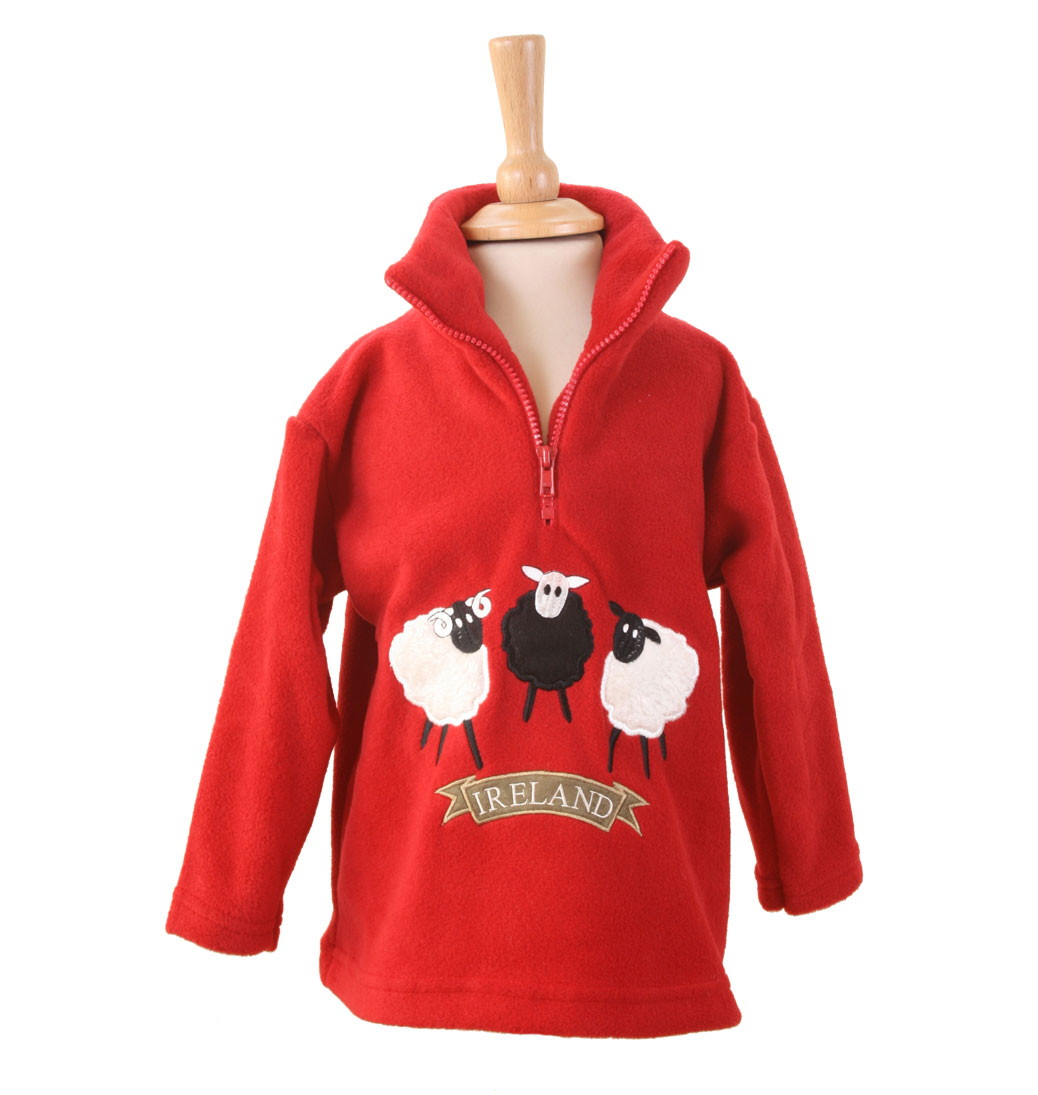 Children's Zip Neck Fleeces