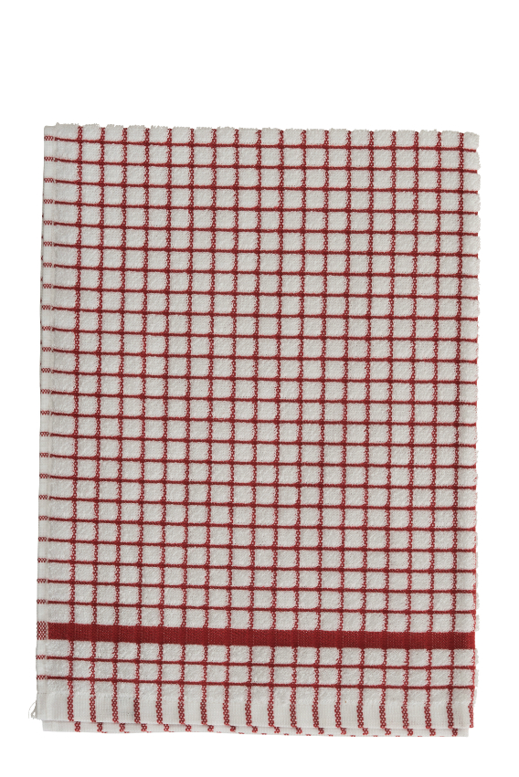 Lamont Red Poli-Dri Tea Towel