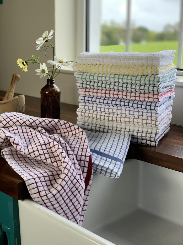 Lamont Poli-Dri Tea Towels - Set of 9