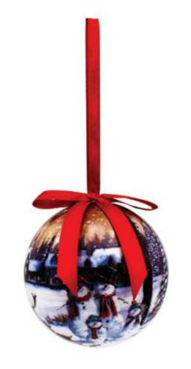 The Magic of Christmas Baubles Set of 6