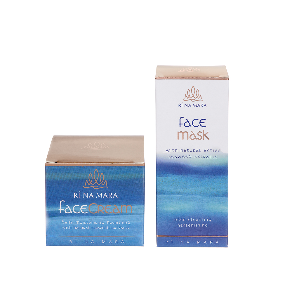 Ri Na Mara Face Cream and Face Mask Gift Set