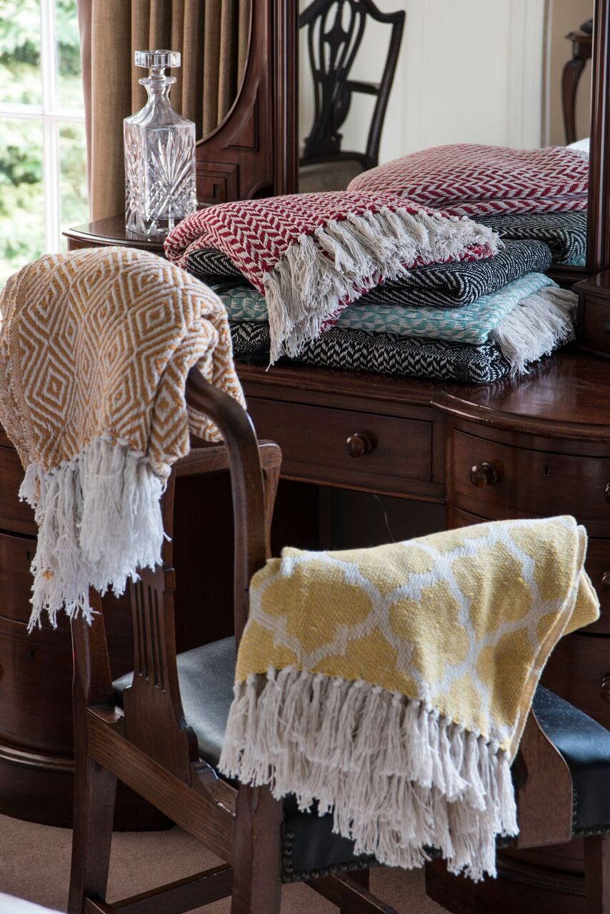 Donegal Wool Scarfs and Throws