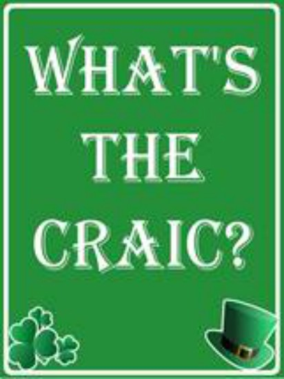 What's The Craic House Sign