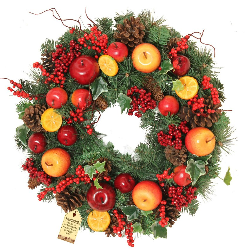 Winter Orchard Large Wreath
