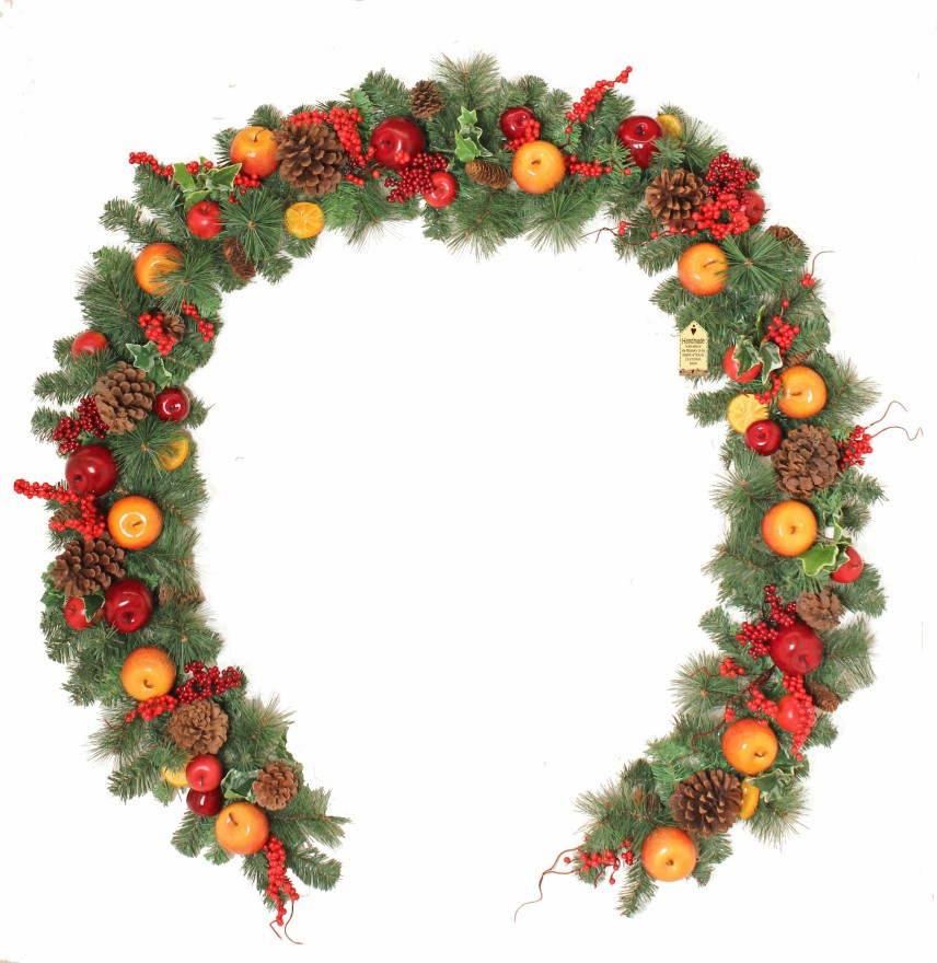 Winter Orchard 9ft Garland