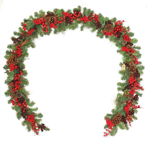 Woodland Berry 9ft Garland