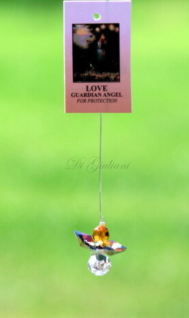 Crystal Hanging Angel/Love