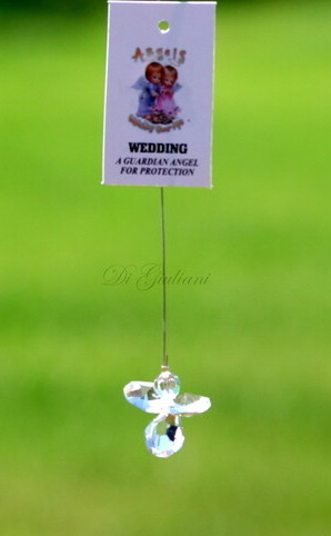 Crystal Hanging Angel/Wedding