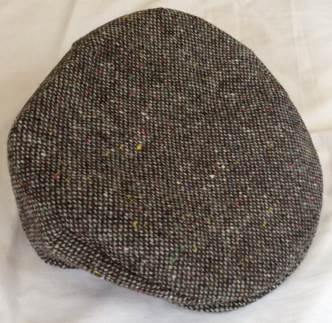 Irish Vintage Plain Tweed Cap