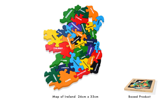 Map of Ireland Jigsaw