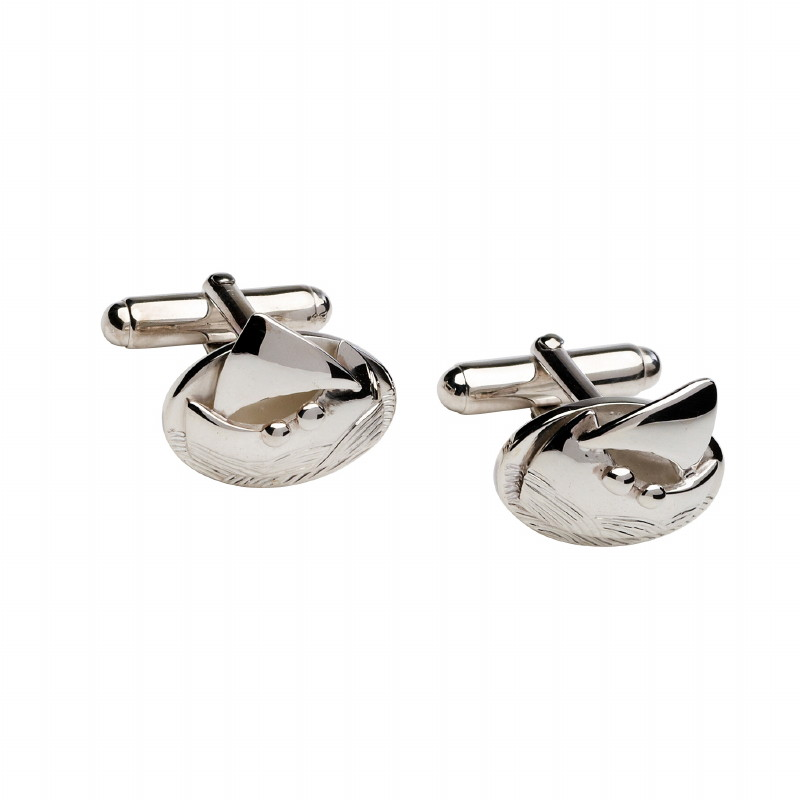 The Voyage Collection Sterling Silver Cufflinks